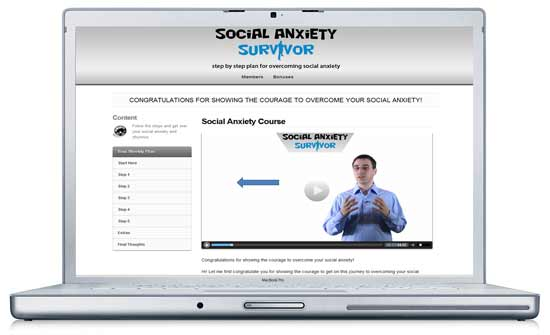 social anxiety survivor course